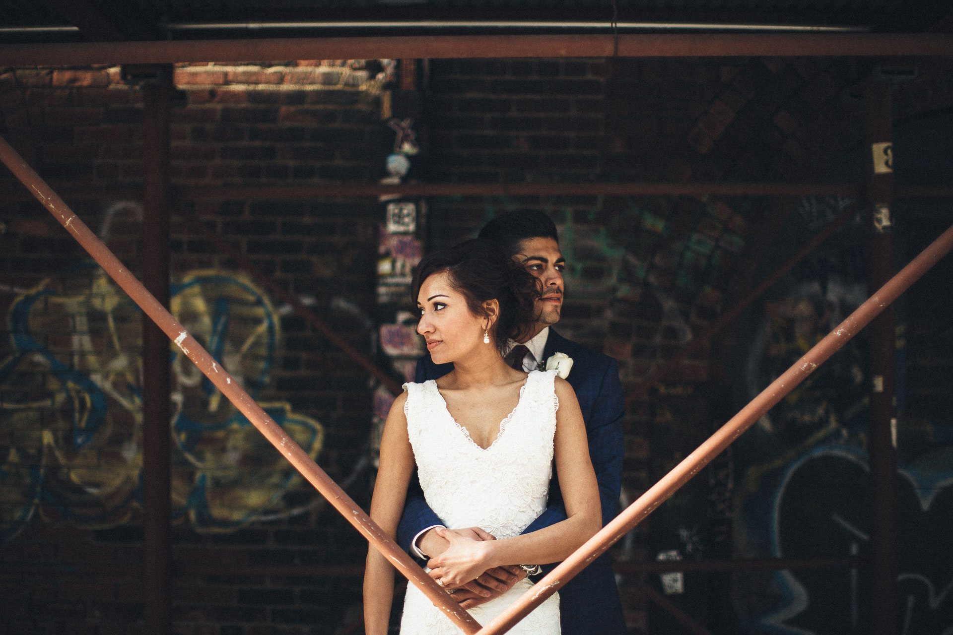 Shama & Alexei Elopement in New York . Jean-Laurent Gaudy Photography