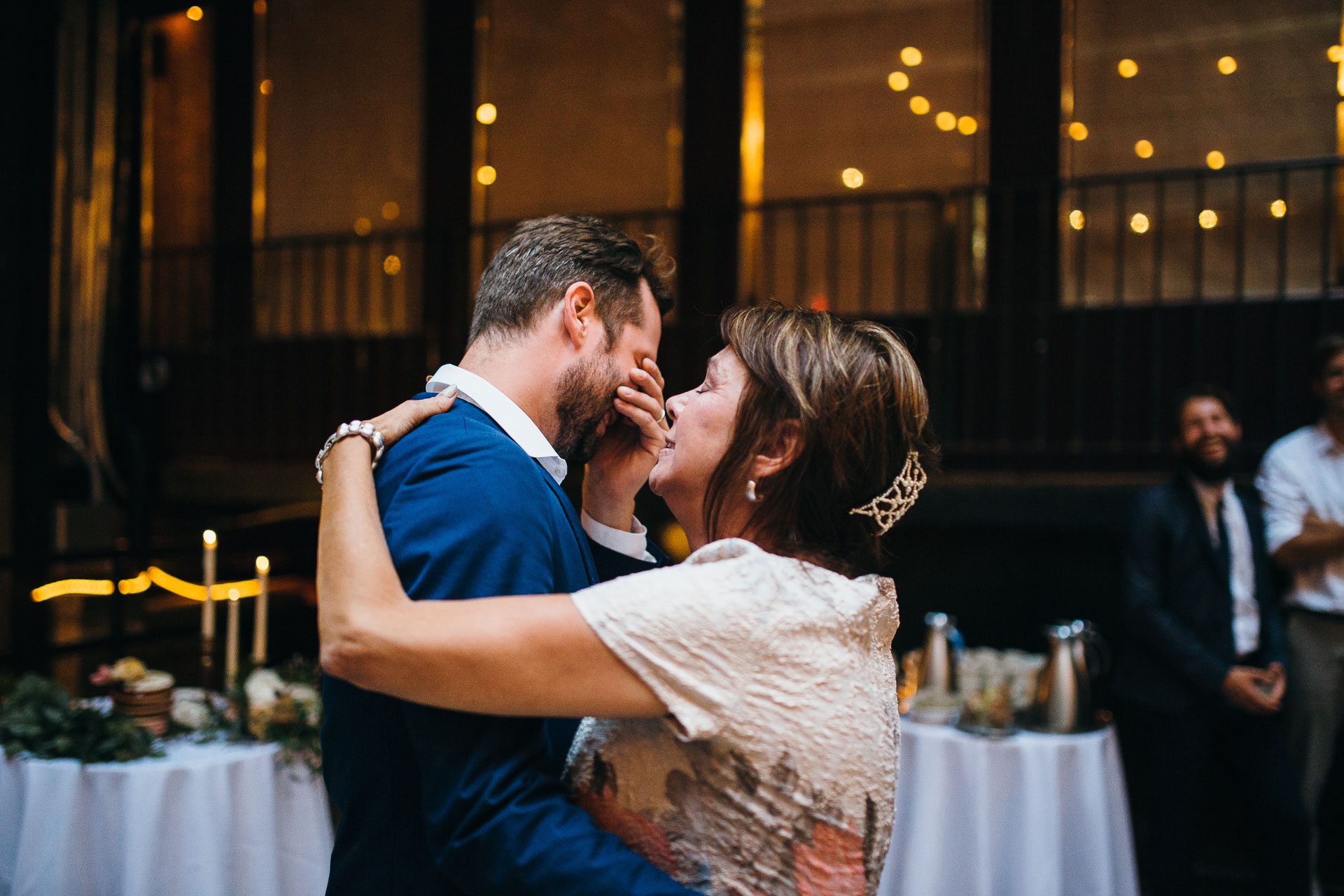 Maris & Brock Alternative Brooklyn Wedding By Jean-Laurent Gaudy Photography