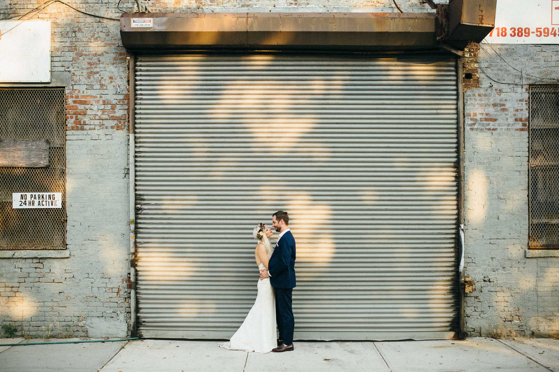 Maris & Brock's Wedding at The Glasserie, Greenpoint,Brooklyn, New York, USA