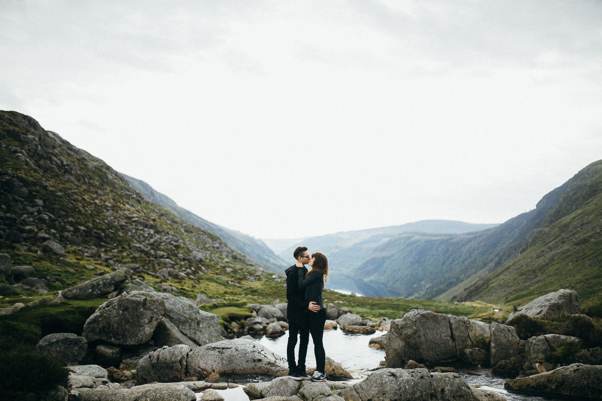 Claire & Johan Engagement in Glendalough . Wicklow Mountains . Dublin . Ireland . Jean-Laurent Gaudy . jeanlaurentgaudy.com