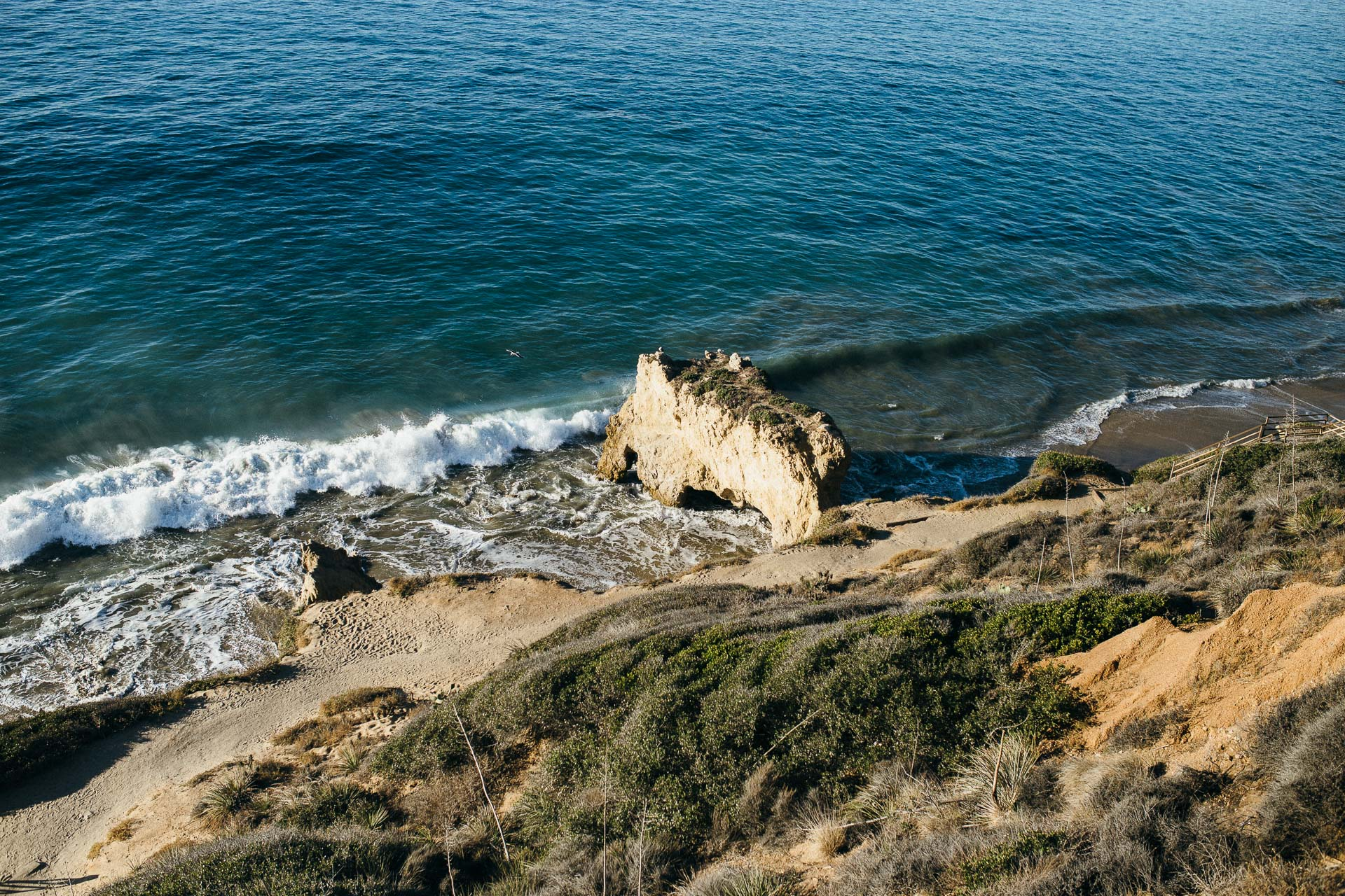 El Matador Beach Engagement in California by Jean-Laurent Gaudy Photography-2