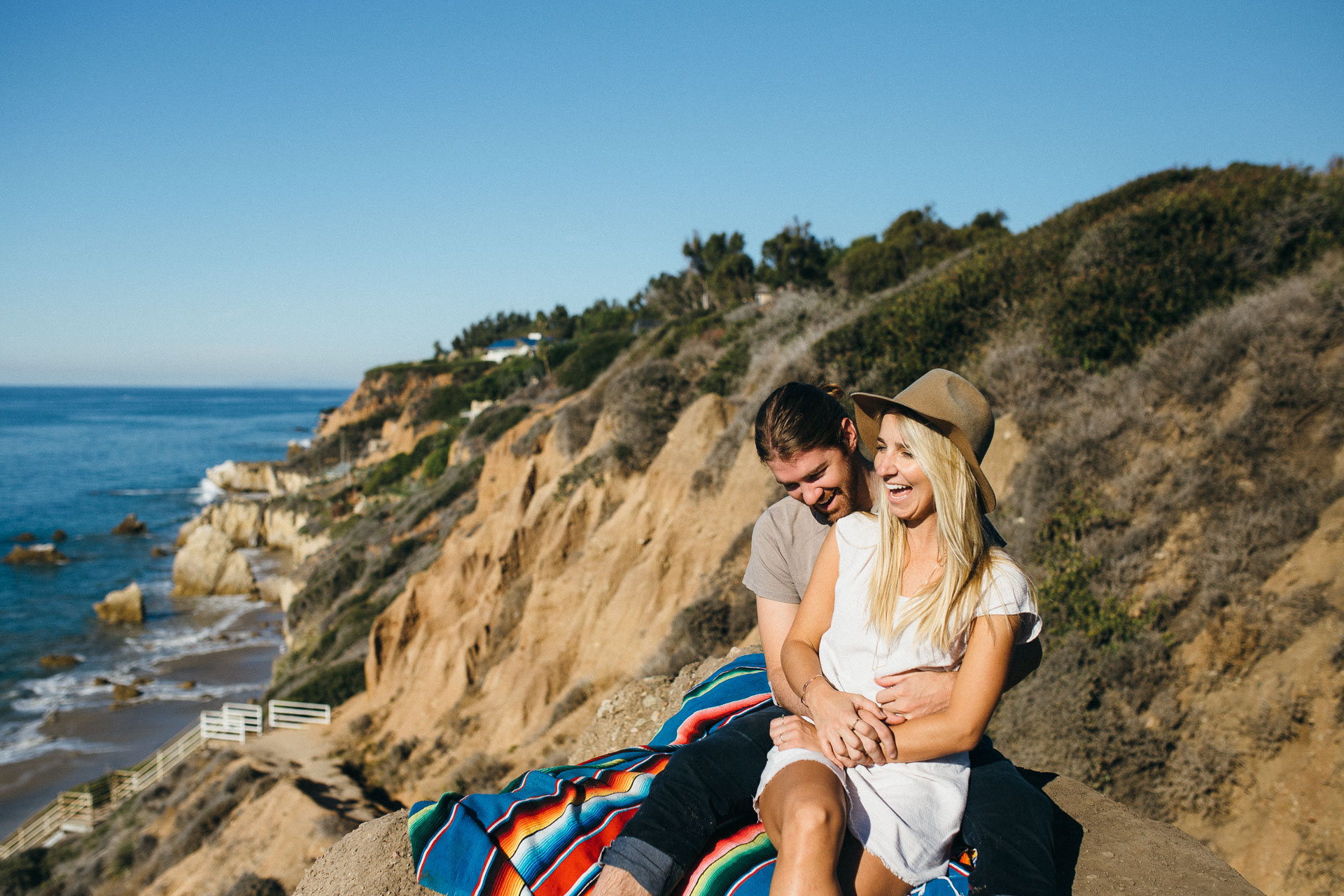 El Matador Beach Engagement in California by Jean-Laurent Gaudy Photography-7