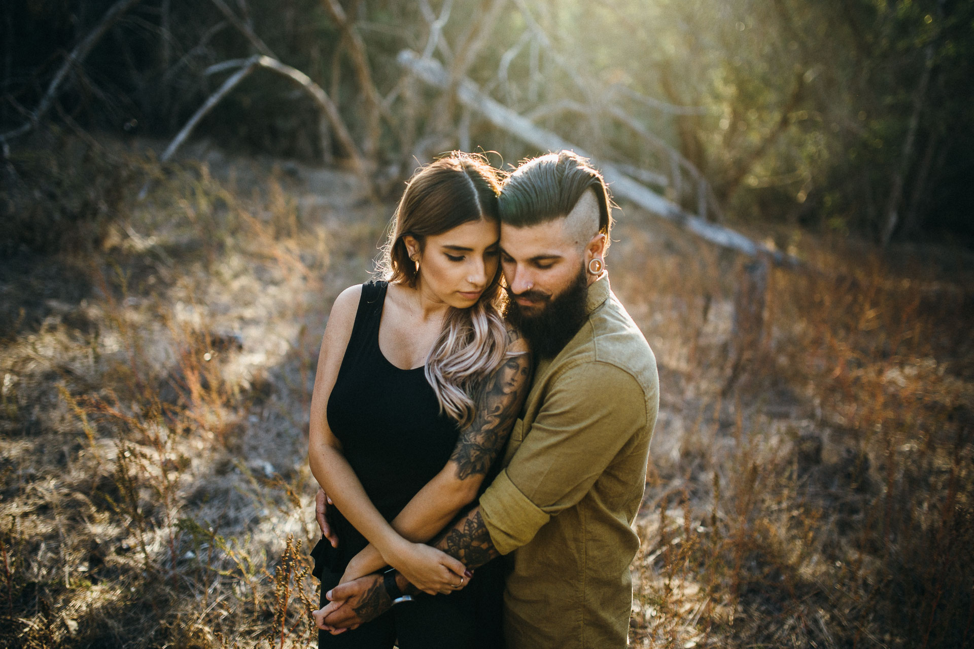 Palos Verdes Engagement in California by Jean-Laurent Gaudy Photography
