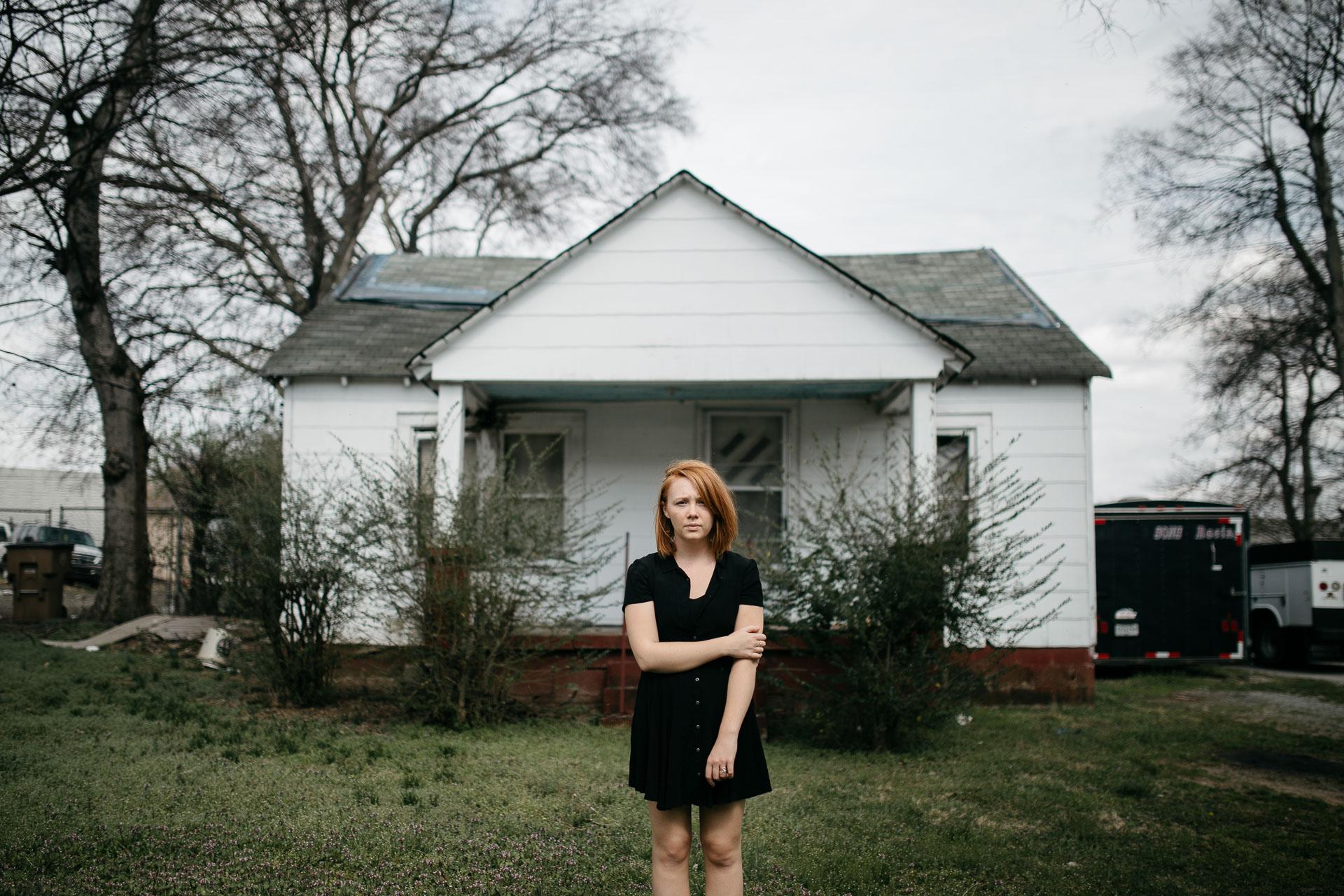 Portrait Nashville Photographer : Nicola, by Jean-Laurent Gaudy Photography