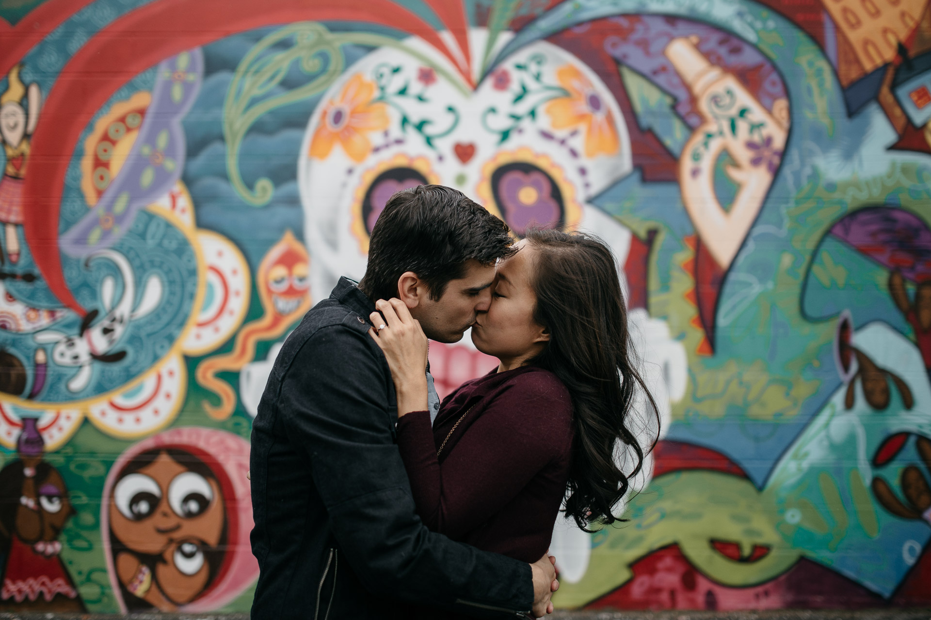 Astoria Engagement in New York by Jean-Laurent Gaudy Photography-3