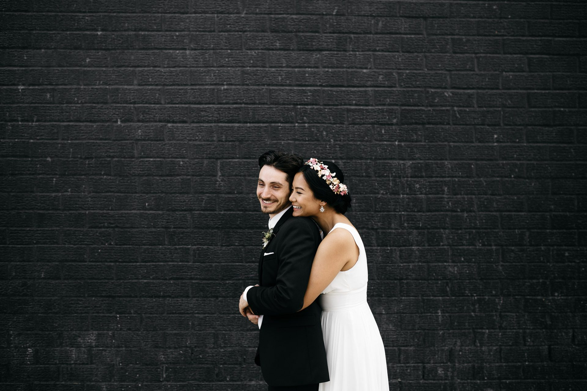 Sophia & Dan's Greenpoint Wedding . Glasserie - Brooklyn, NYC