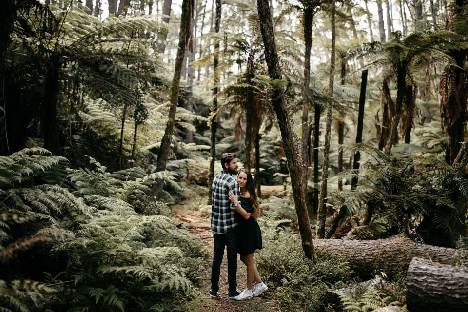 Kira & Fletch's Love Session on Kawau Island . New Zealand
