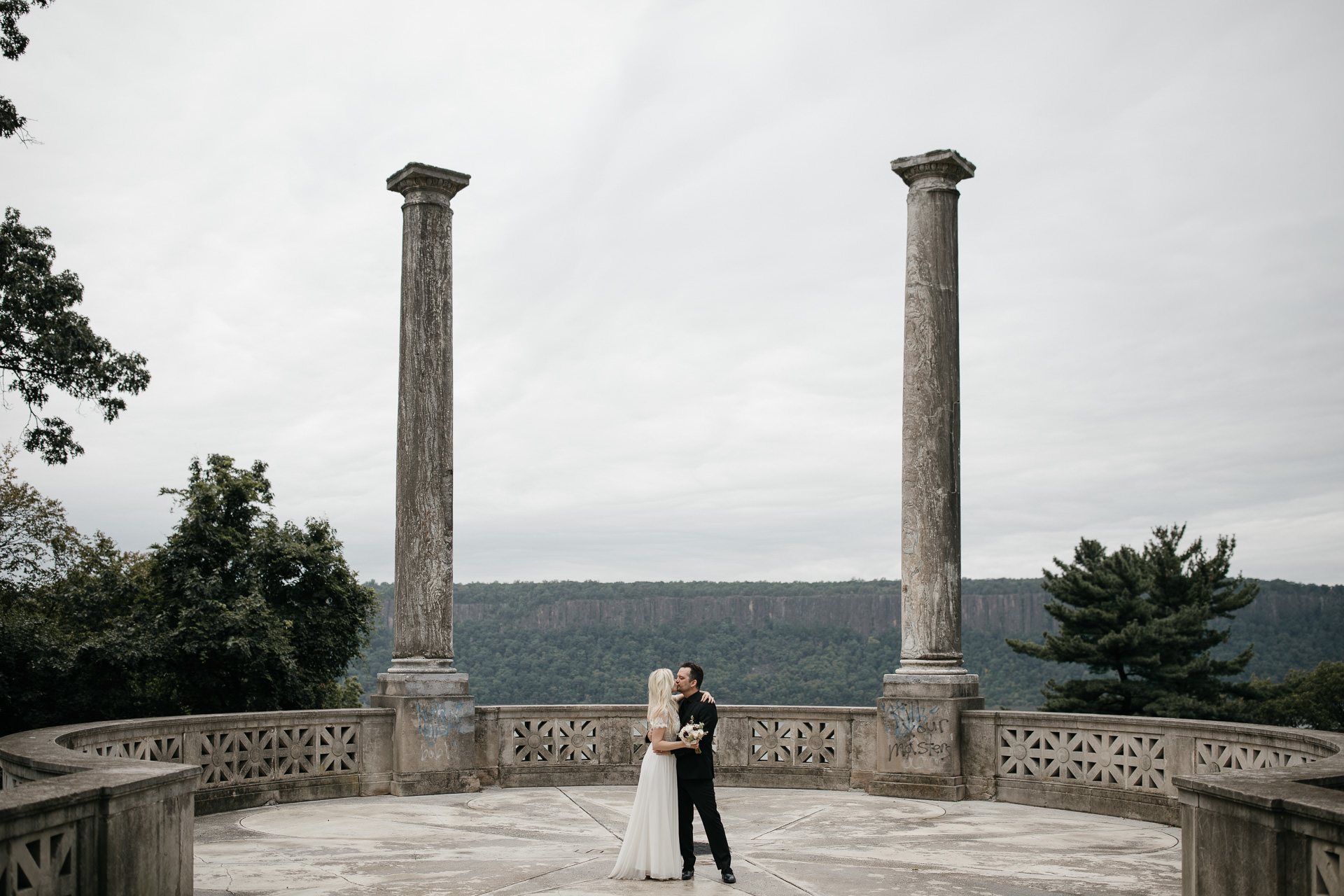Elopement Untermyer Gardens in New York City by Jean-Laurent Gaudy