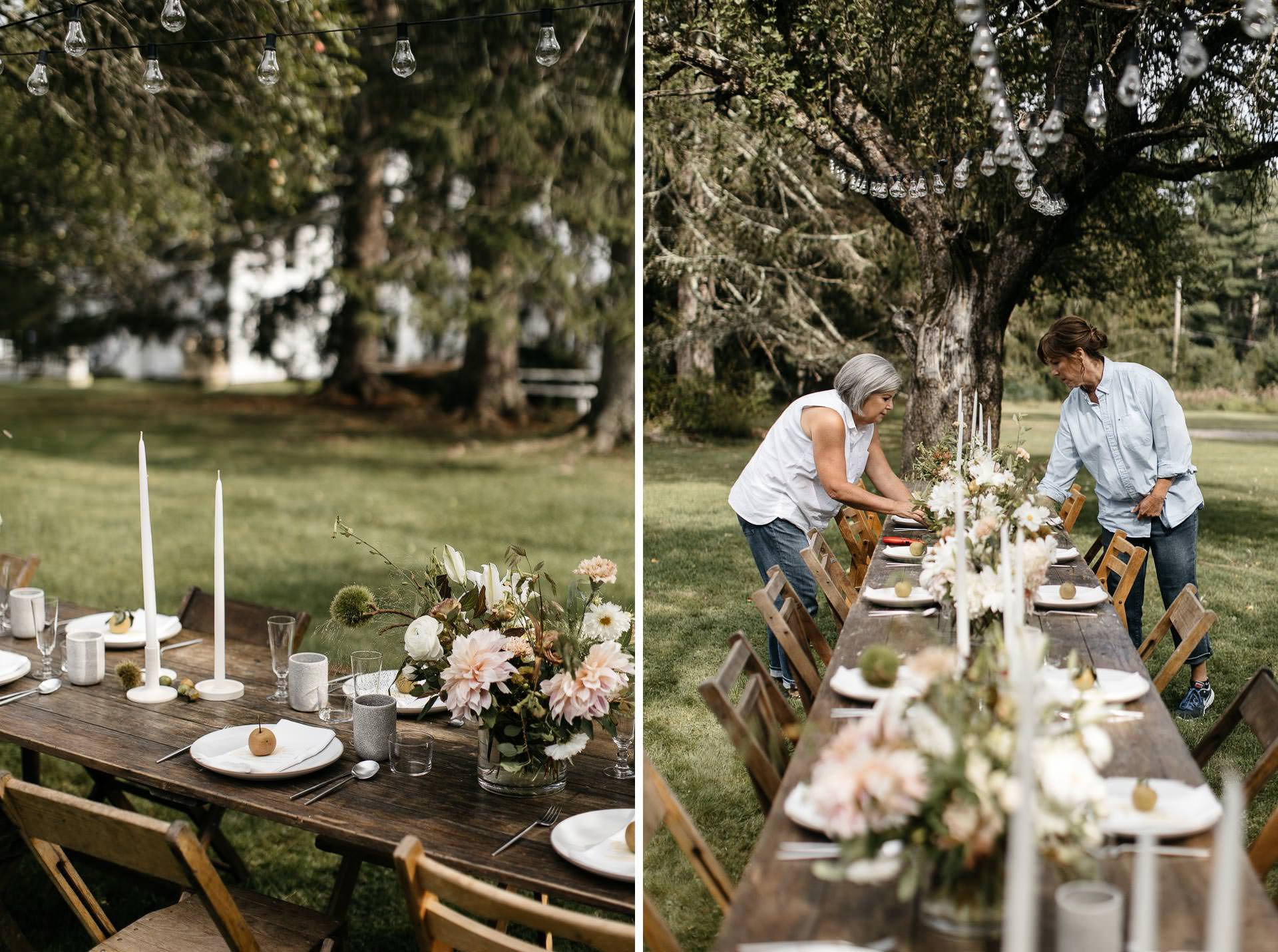 Floating FarmHouse Intimate Wedding in Upstate New York by Jean-Laurent Gaudy
