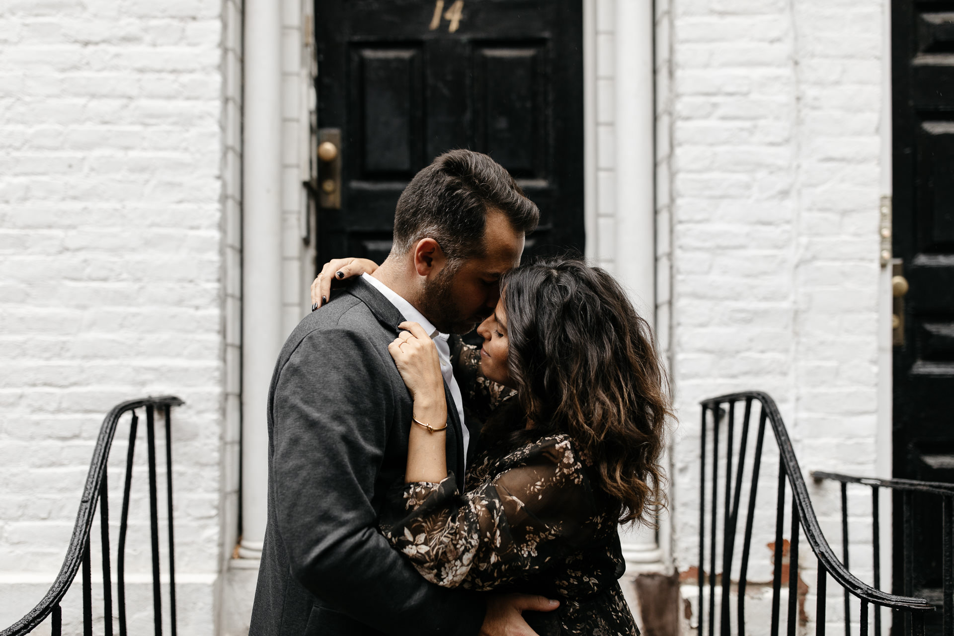 Rime & Greg, A fall love session . West Village, NYC