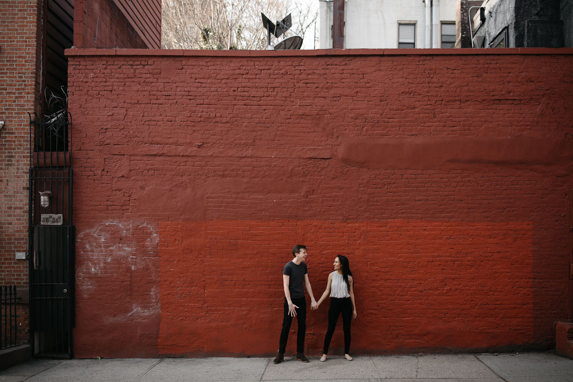 Kelly & Wells Engagement in West Village, New York, by Jean-Laurent Gaudy