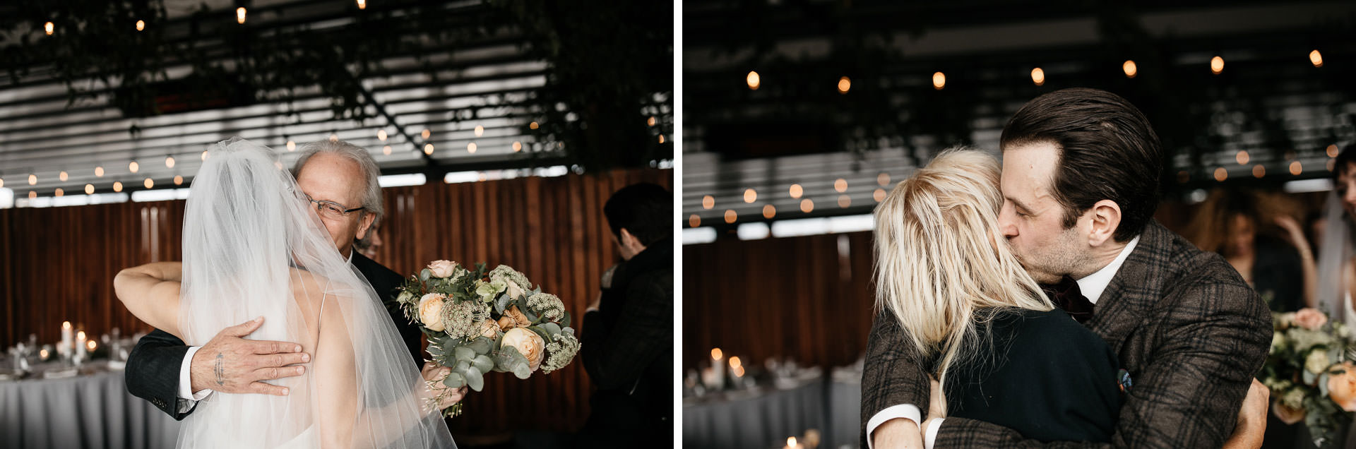 Courtney & Hank Wedding Wedding Brooklyn Box House Hotel, New York, by Jean-Laurent Gaudy