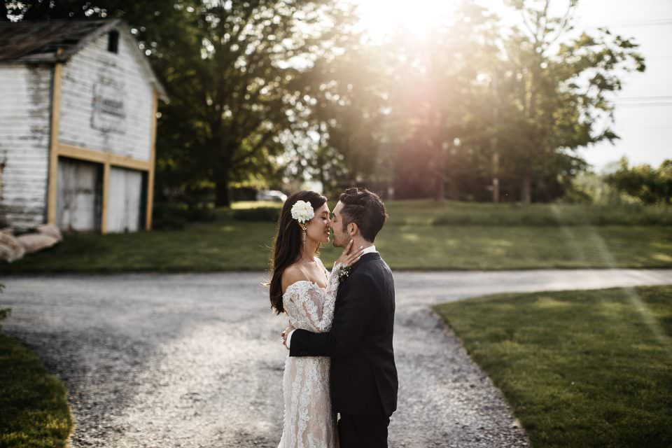 Sarah & Jonathan . Audrey's Farmhouse Wedding Catskills