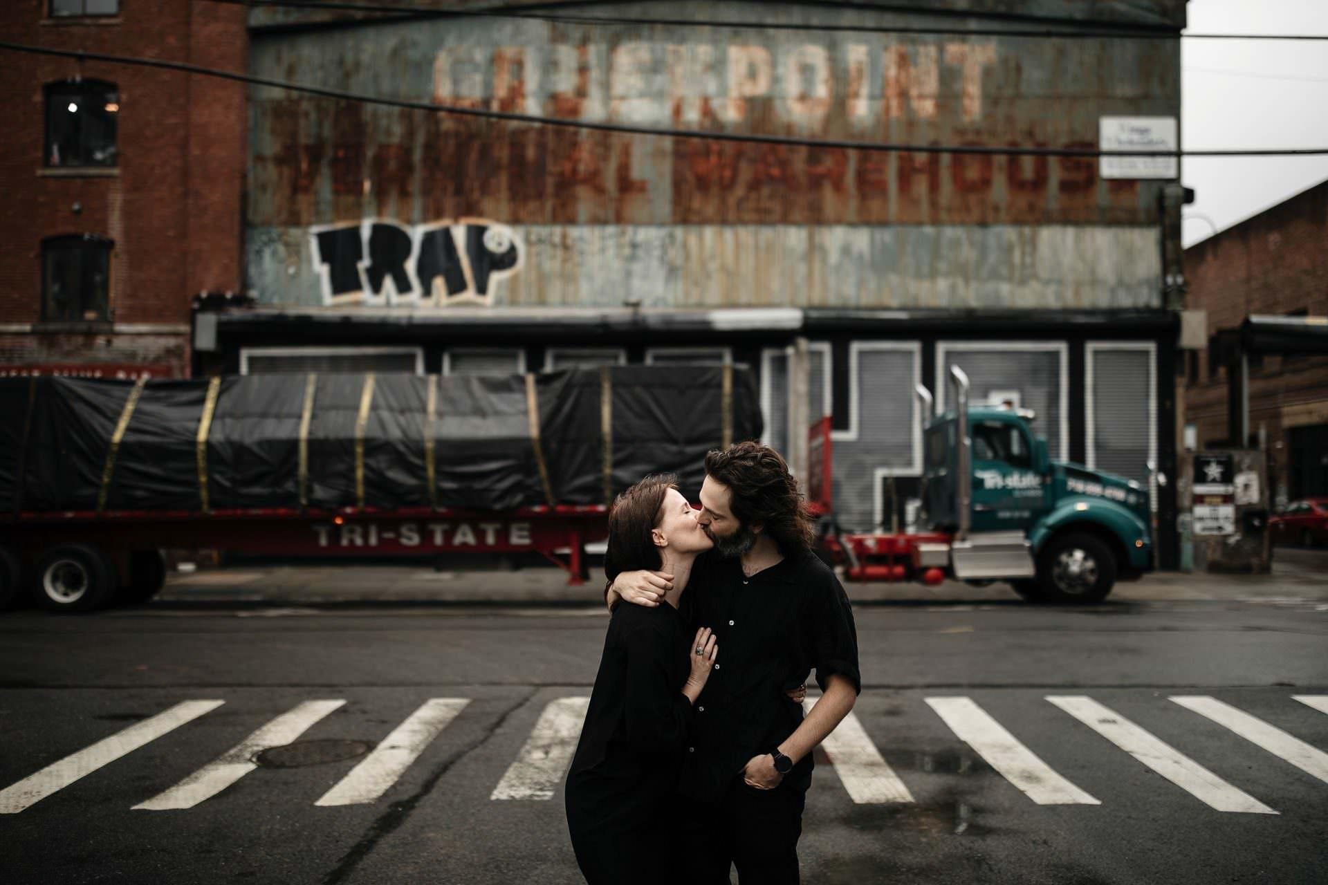 Tara & Sean's Engagement Brooklyn . NYC
