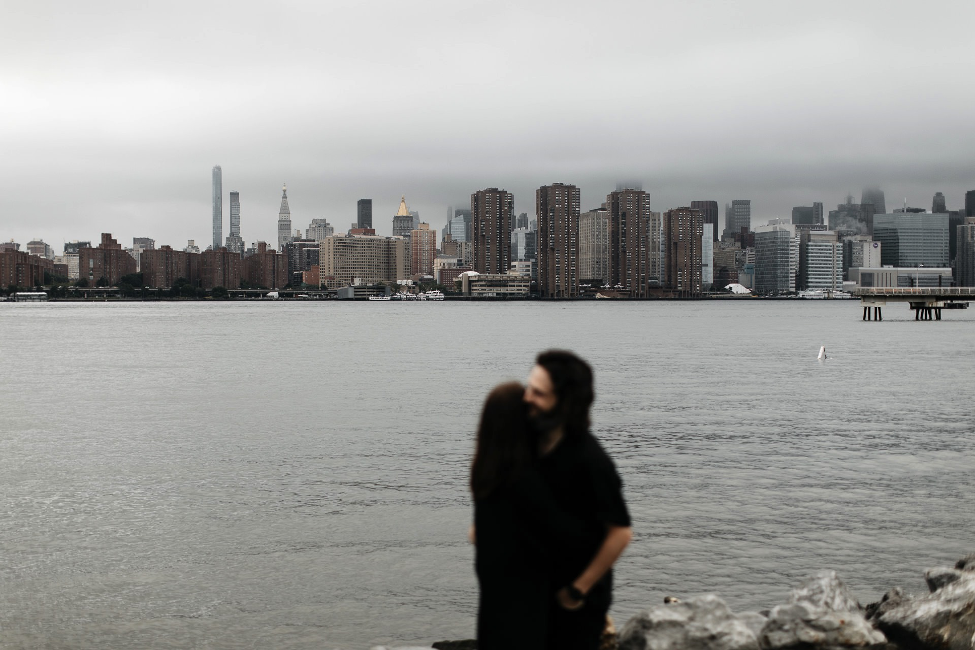 Tara & Sean's Engagement in Brooklyn, New York, by Jean-Laurent Gaudy