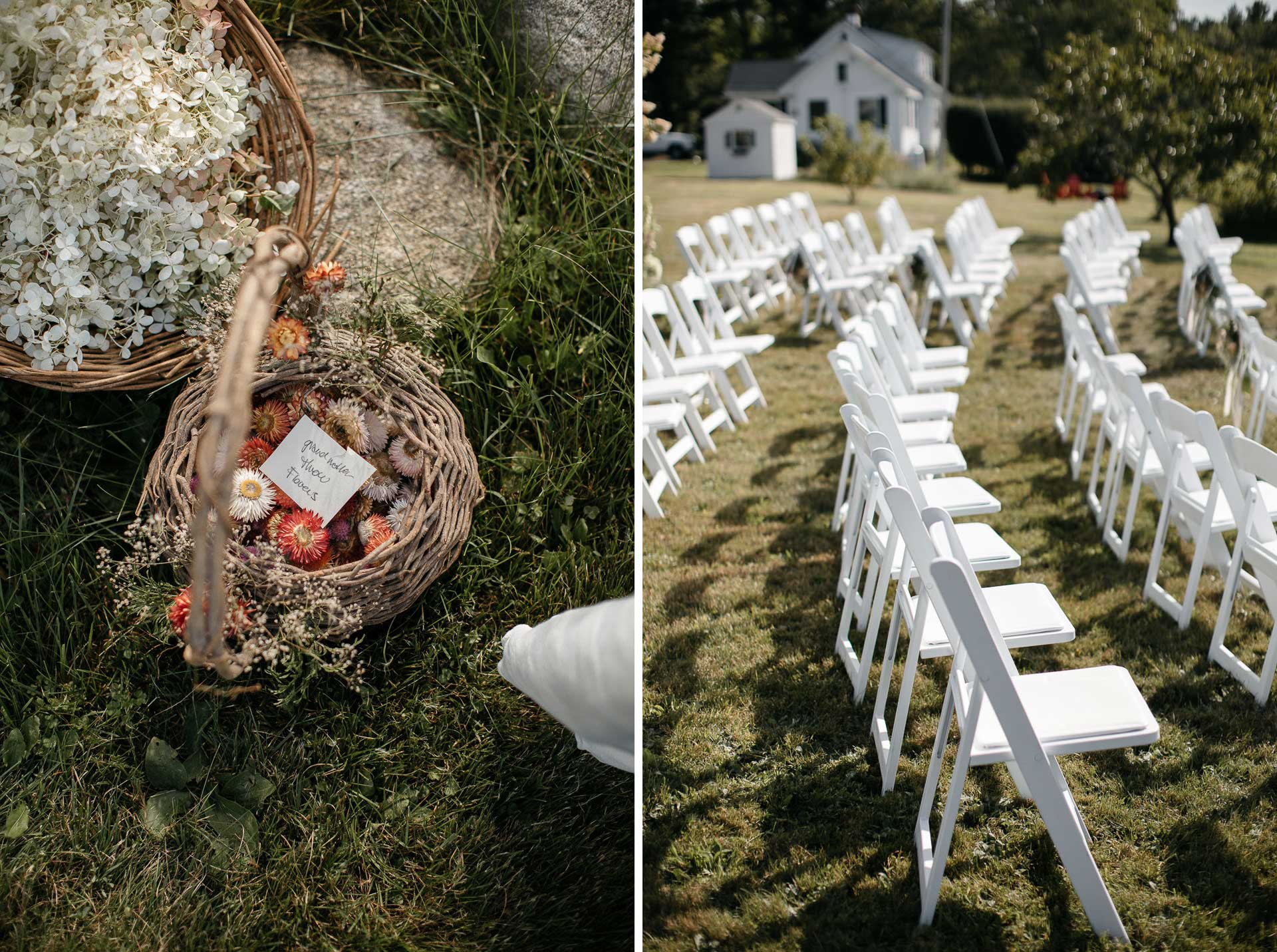 Boho Intimate Wedding in Maine By Jean-Laurent Gaudy Photography width=