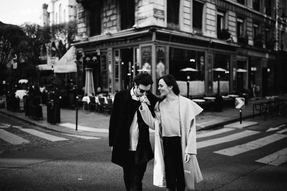 Courtney & Hank's first Anniversary . Paris, France