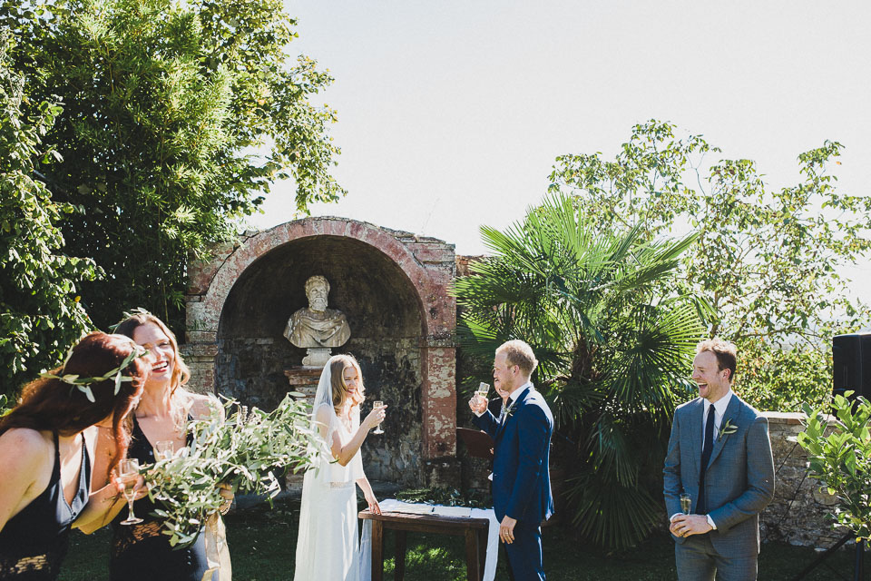 Holly & Alex Tuscany Wedding in Italy by Jean-Laurent Gaudy Photography