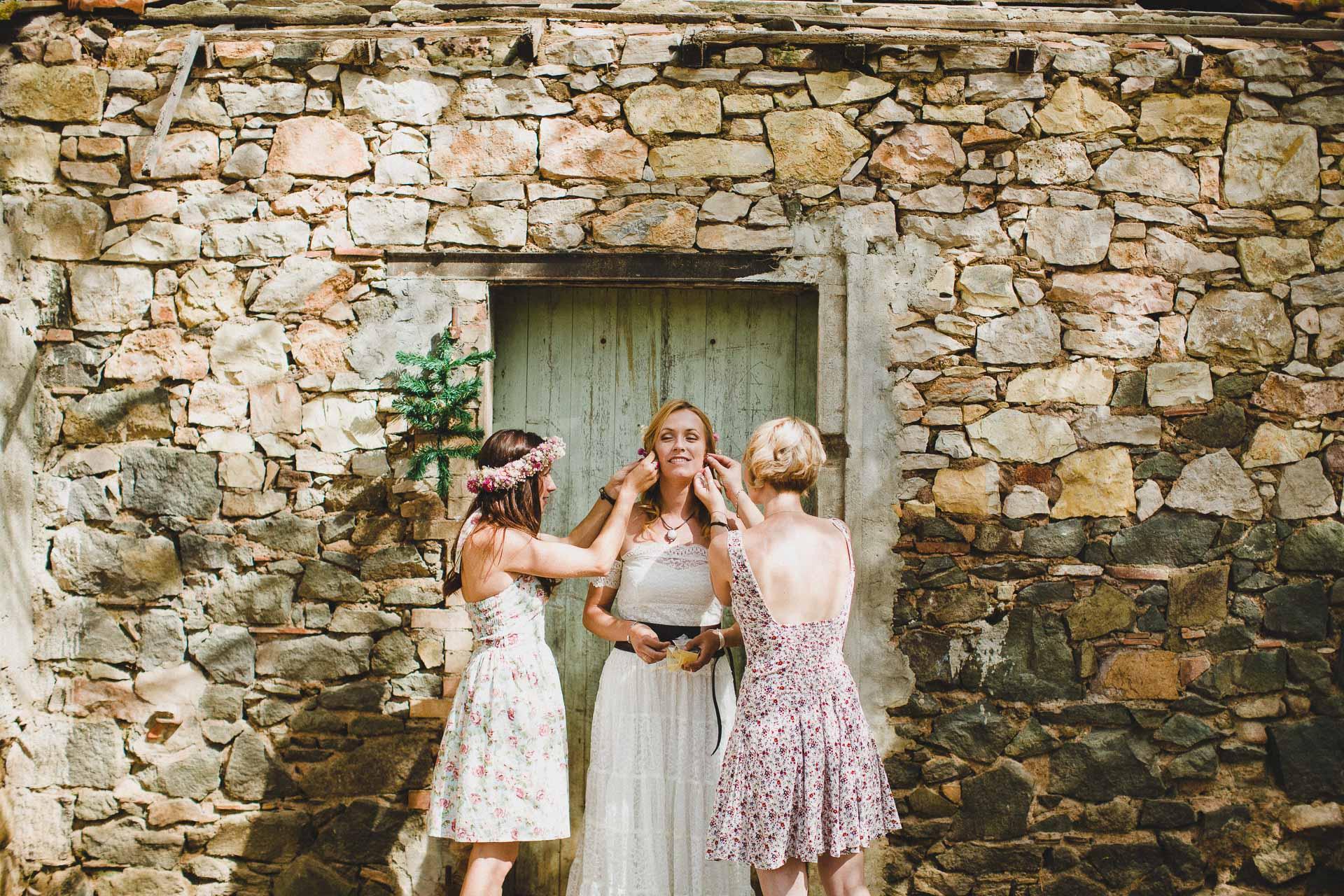 Lea & David Americana Folk Wedding France by Jean-Laurent Gaudy Photography-12