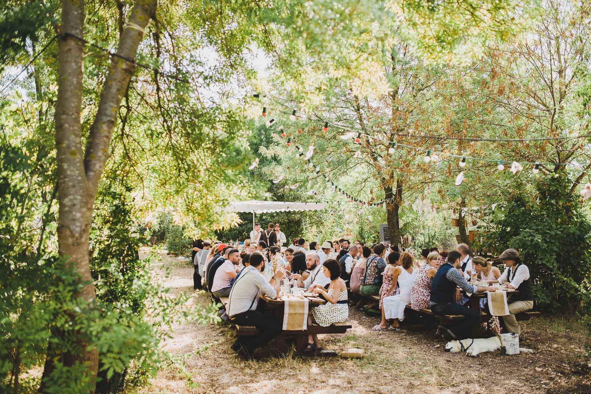 Lea & David Americana Folk Wedding France by Jean-Laurent Gaudy Photography-7