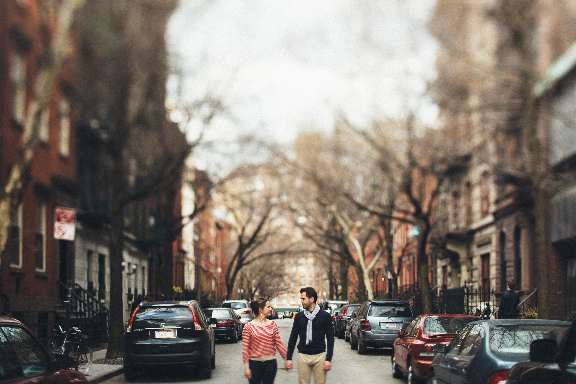 Anne & Jeremy Meatpacking Engagement New York by Jean-Laurent Gaudy Photography