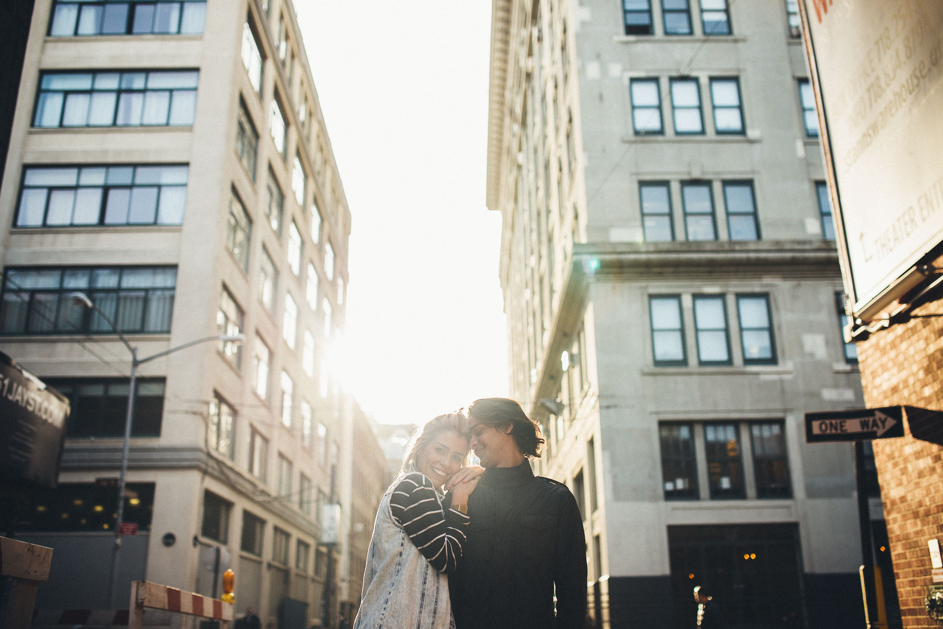 Kiko & Fefe from Brazil to New York Engagement - Jean-Laurent Gaudy Photography