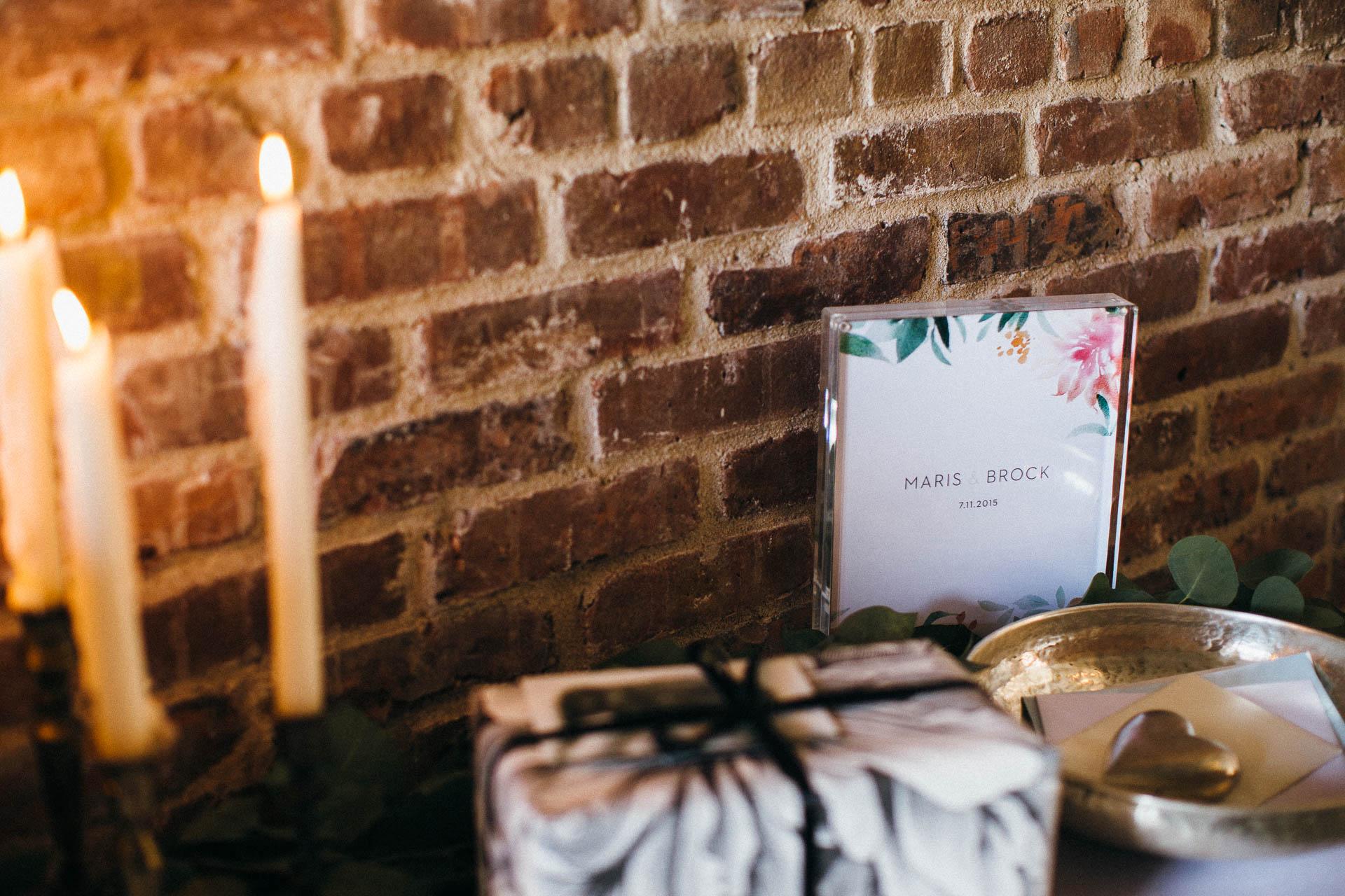 Maris & Brock Alternative Brooklyn Wedding By Jean-Laurent Gaudy Photography