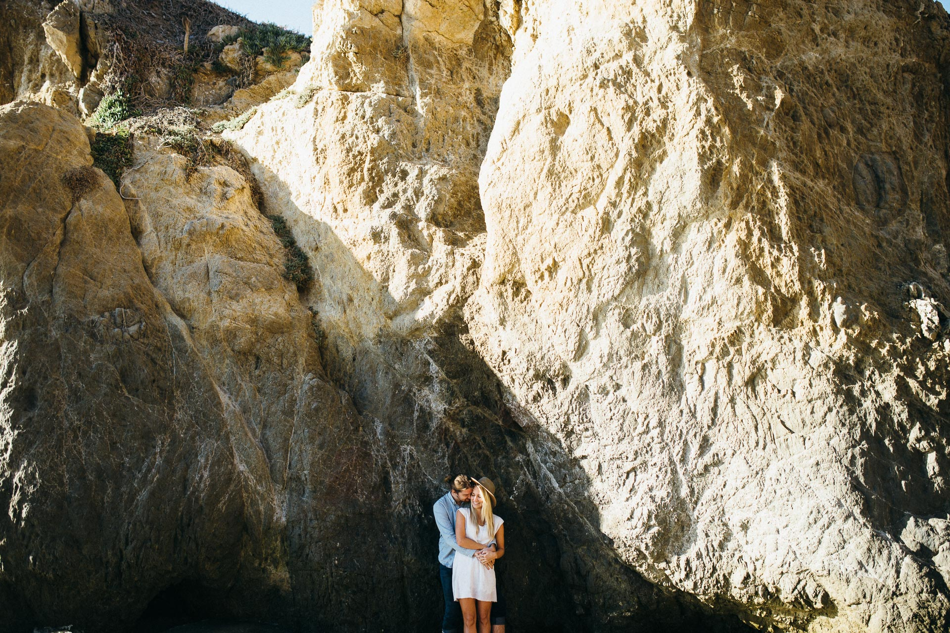 El Matador Beach Engagement in California by Jean-Laurent Gaudy Photography-4