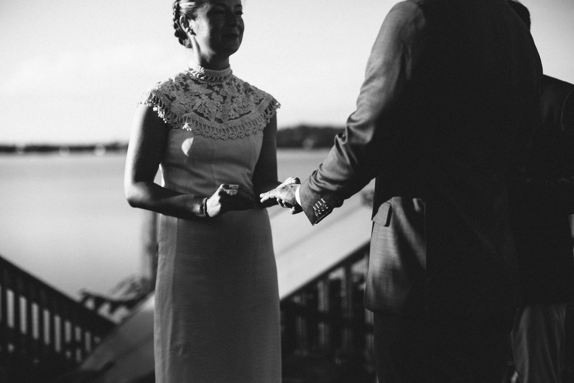 Filiz & Greg Montauk Intimate Wedding by Jean-Laurent Gaudy Photography