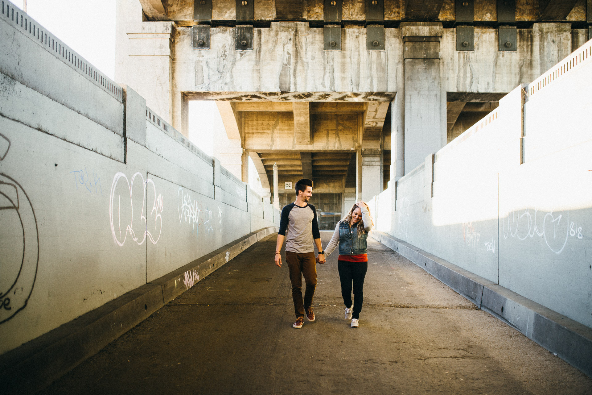Gina & Ryan Los Angeles Engagement By Jean-Laurent Gaudy Photography