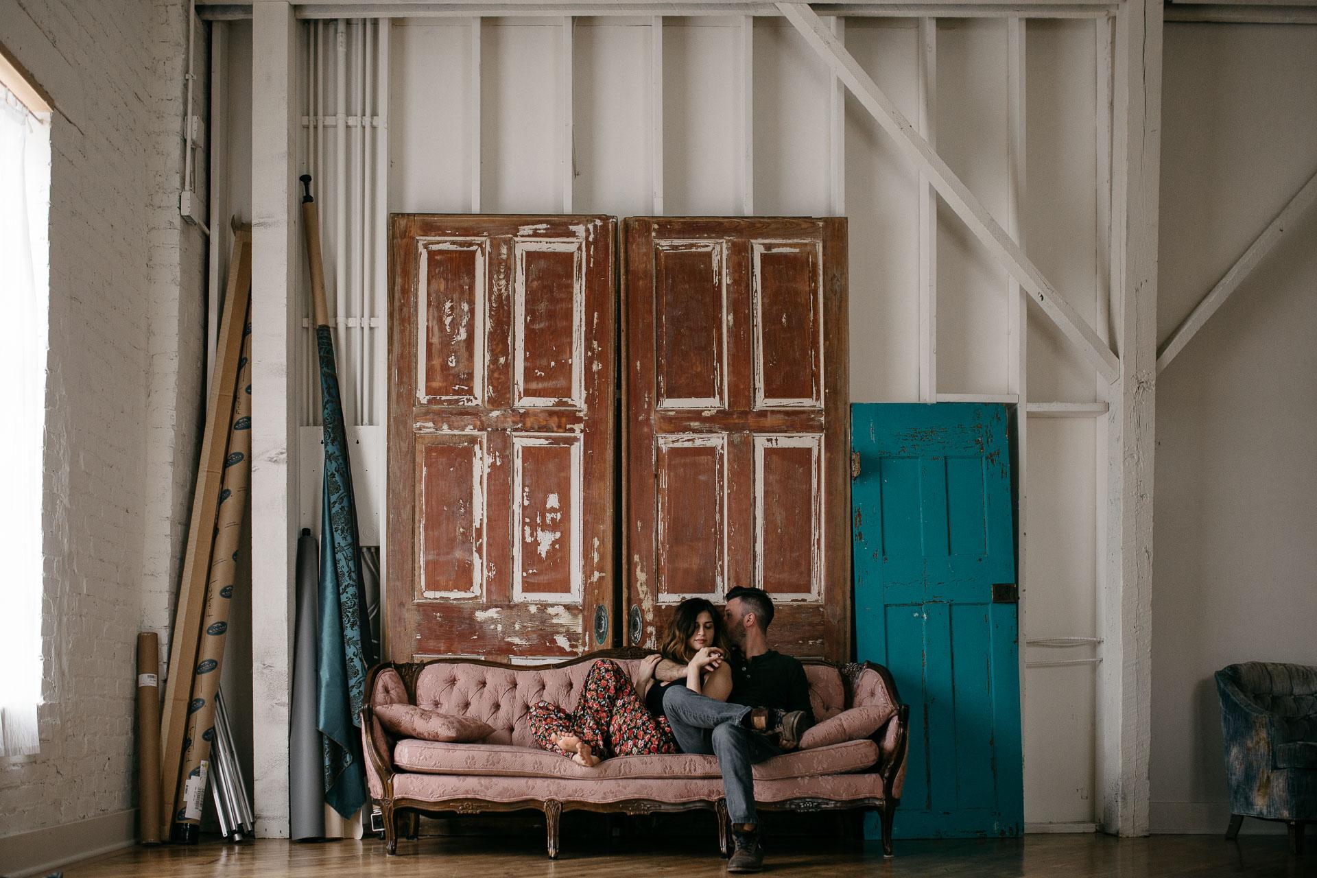 Josie & Jordan, A love story in Nashville, Tennessee . Jean-Laurent Gaudy Photography . www.jeanlaurentgaudy.com