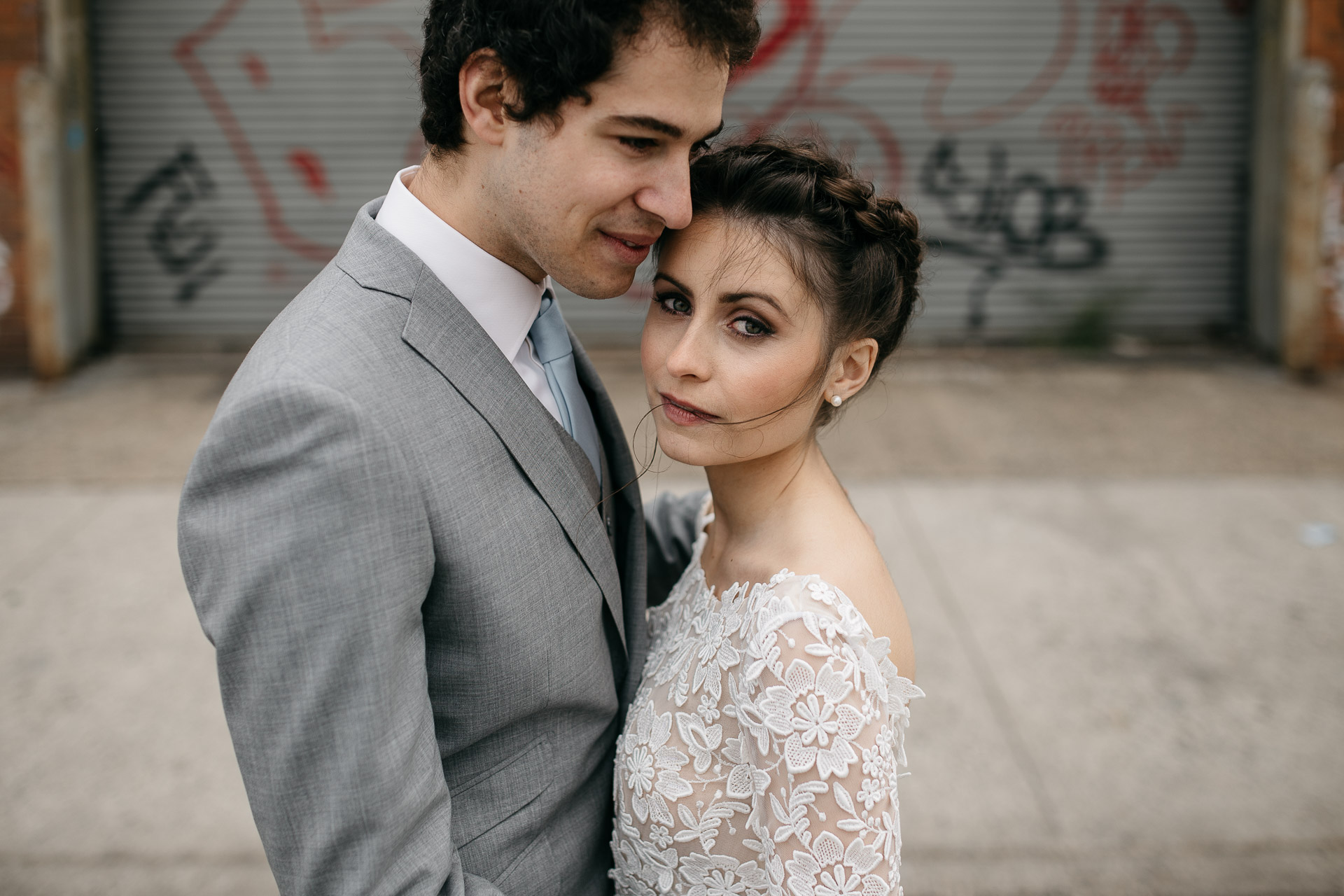Wythe Hotel Intimate wedding by Jean-Laurent Gaudy Photography