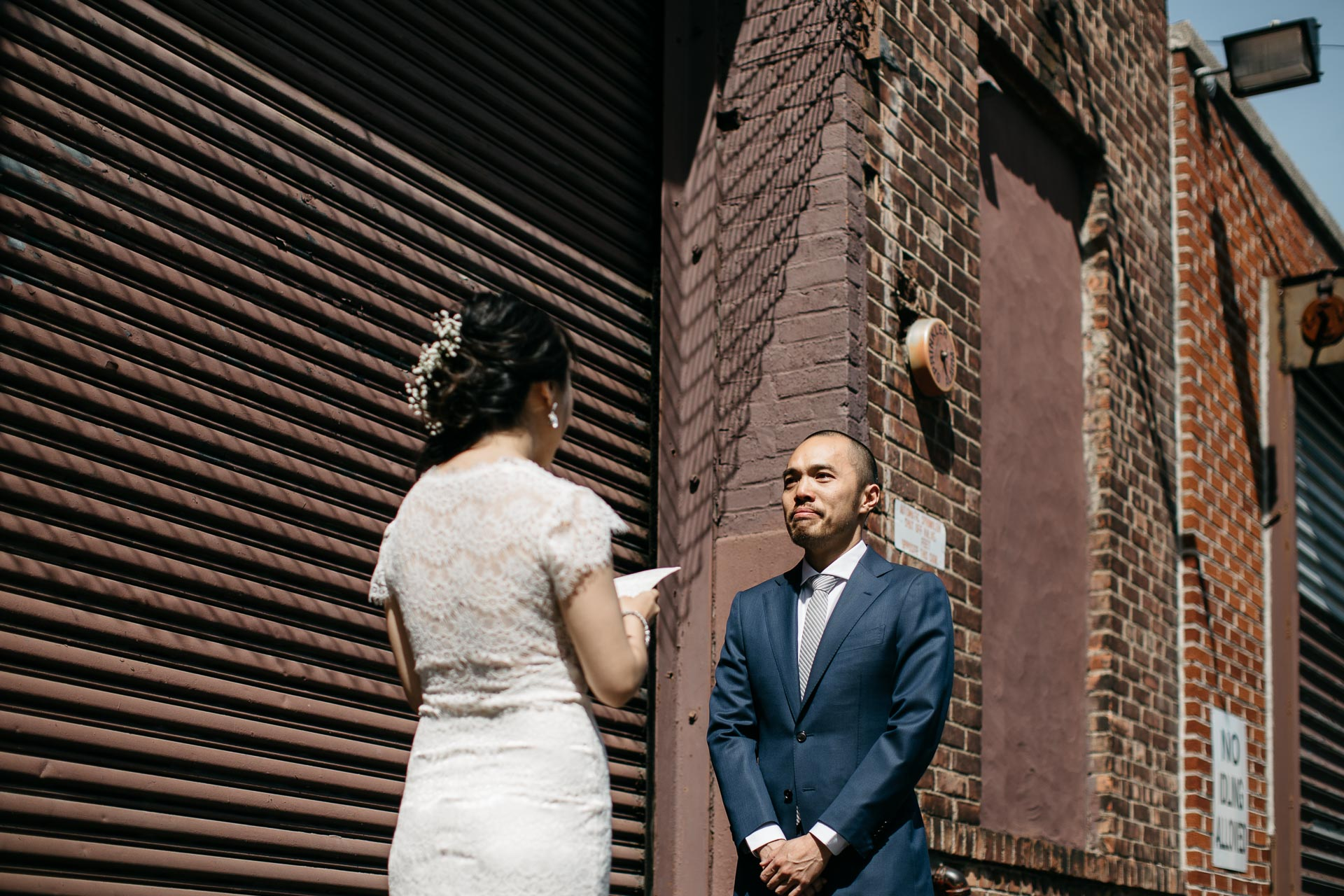 Reina & Keith Bushwick Wedding in Brooklyn by Jean-Laurent Gaudy Photography