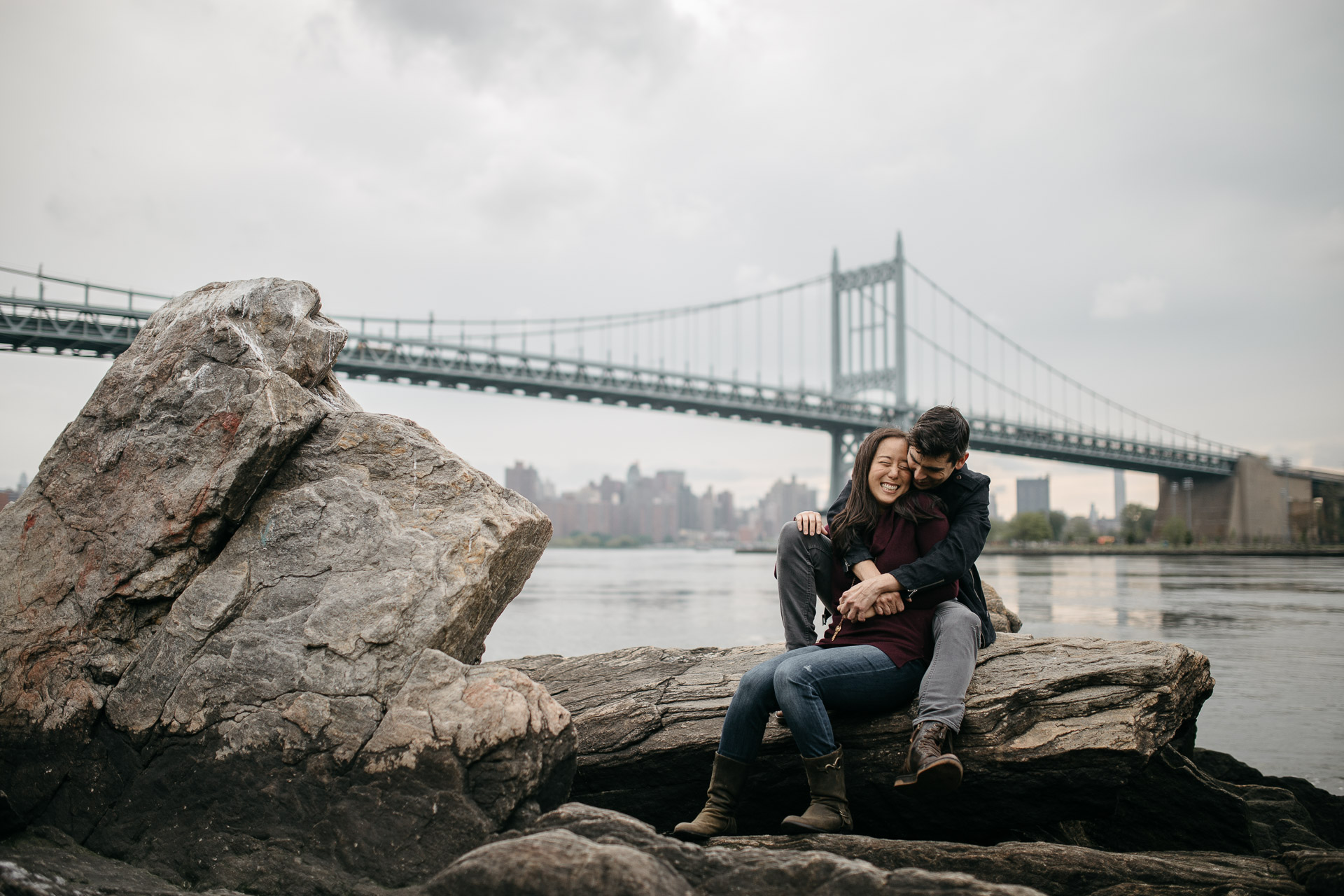 Astoria Engagement in New York by Jean-Laurent Gaudy Photography-2