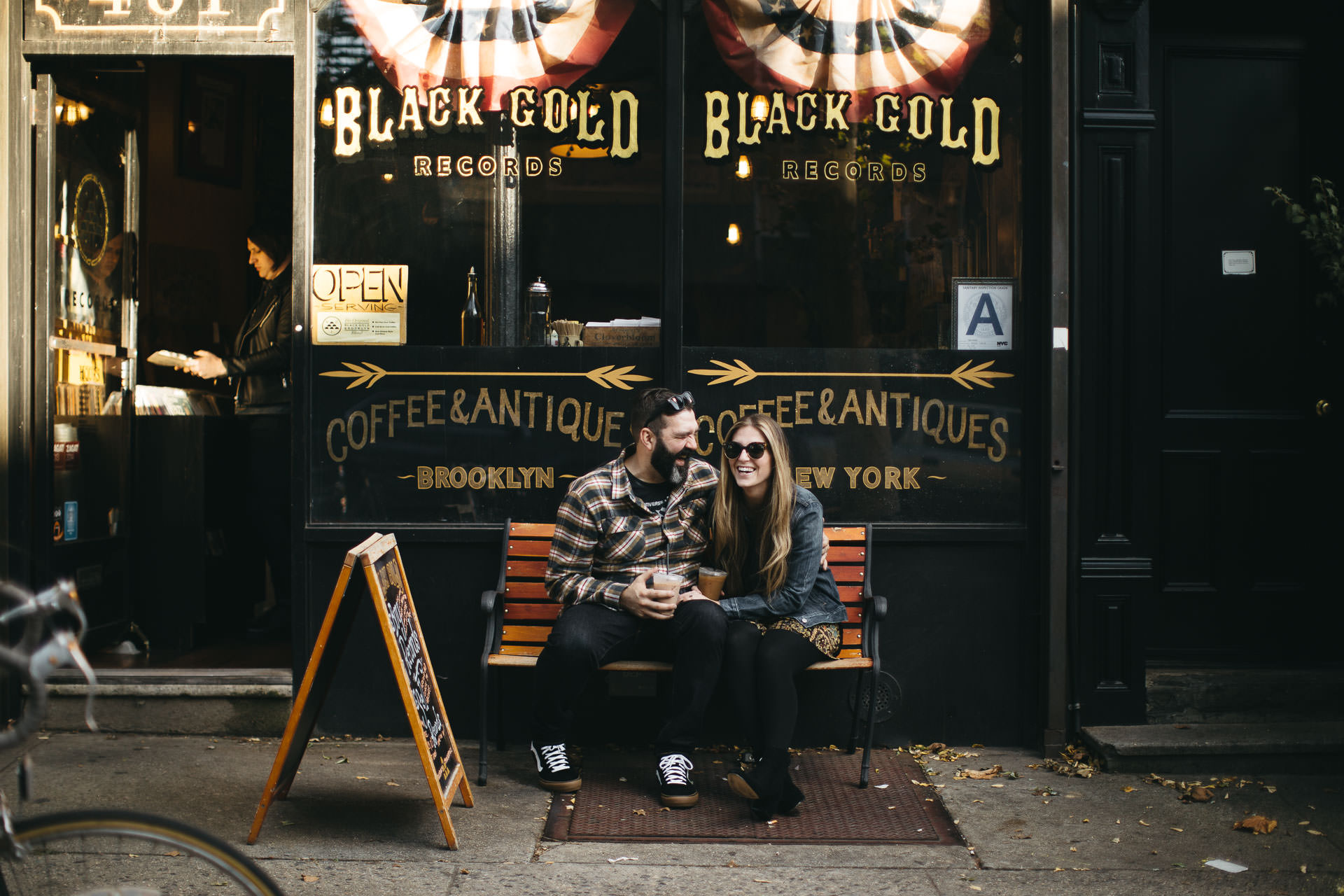 Robyn & Jim Intimate Brooklyn Engagement By Jean-Laurent Gaudy Photography