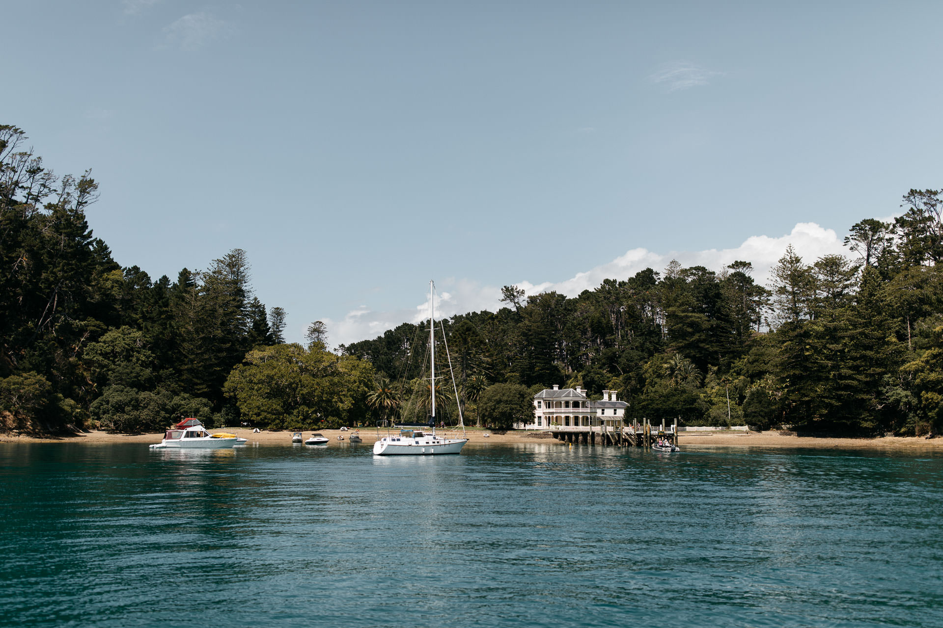 Kira and Fletch Love Session on Kawau Island New Zealand by Jean-Laurent Gaudy