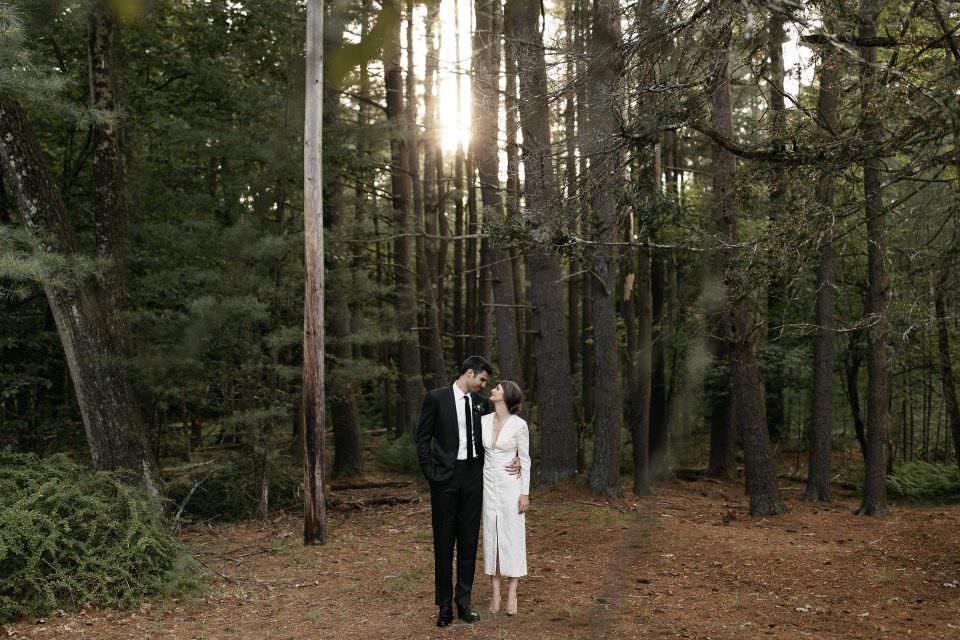 Floating FarmHouse Intimate Wedding . Eldred, NY