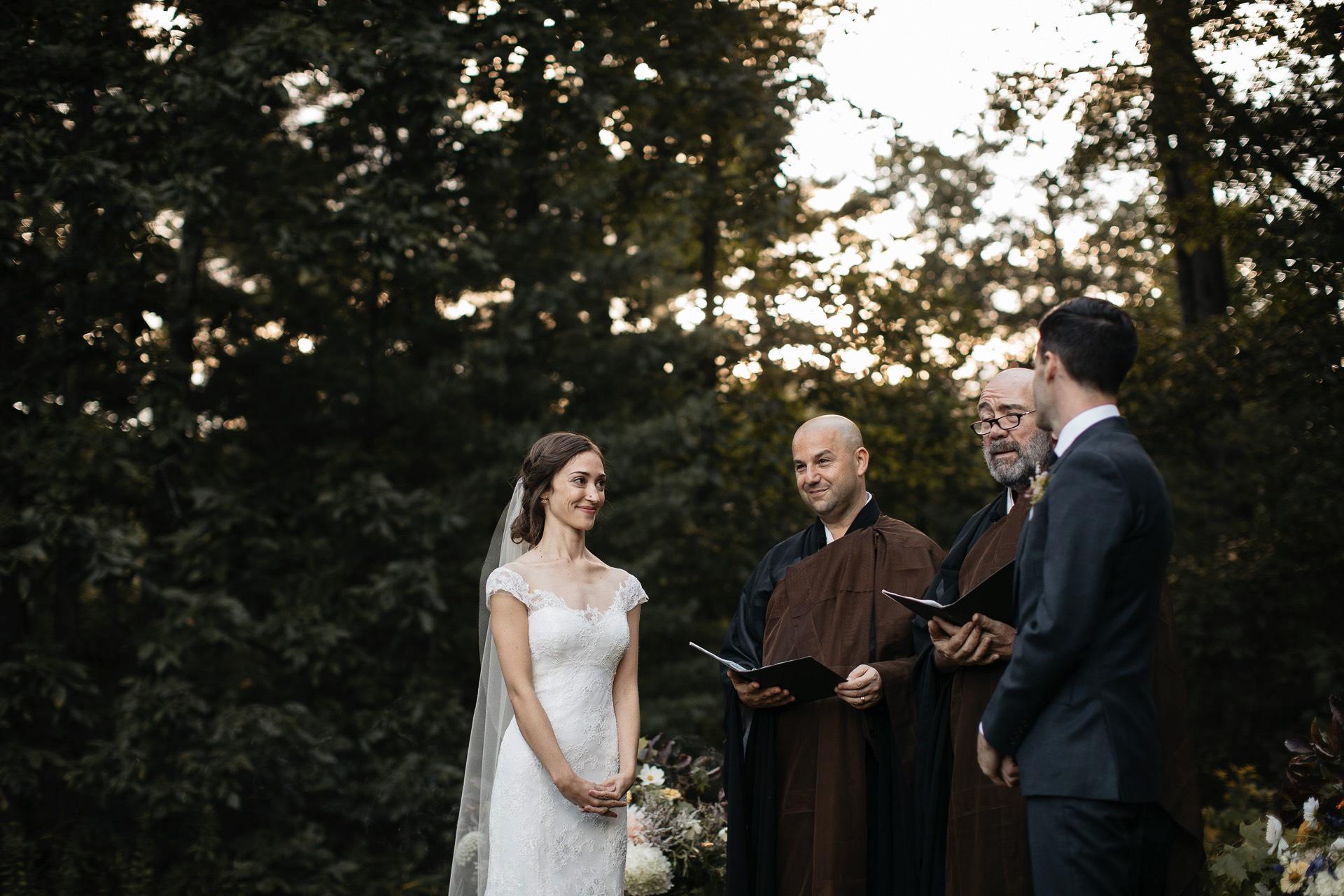 Isabel & Robbie Romantic Catskills Wedding in mount Tremper by Jean-Laurent Gaudy