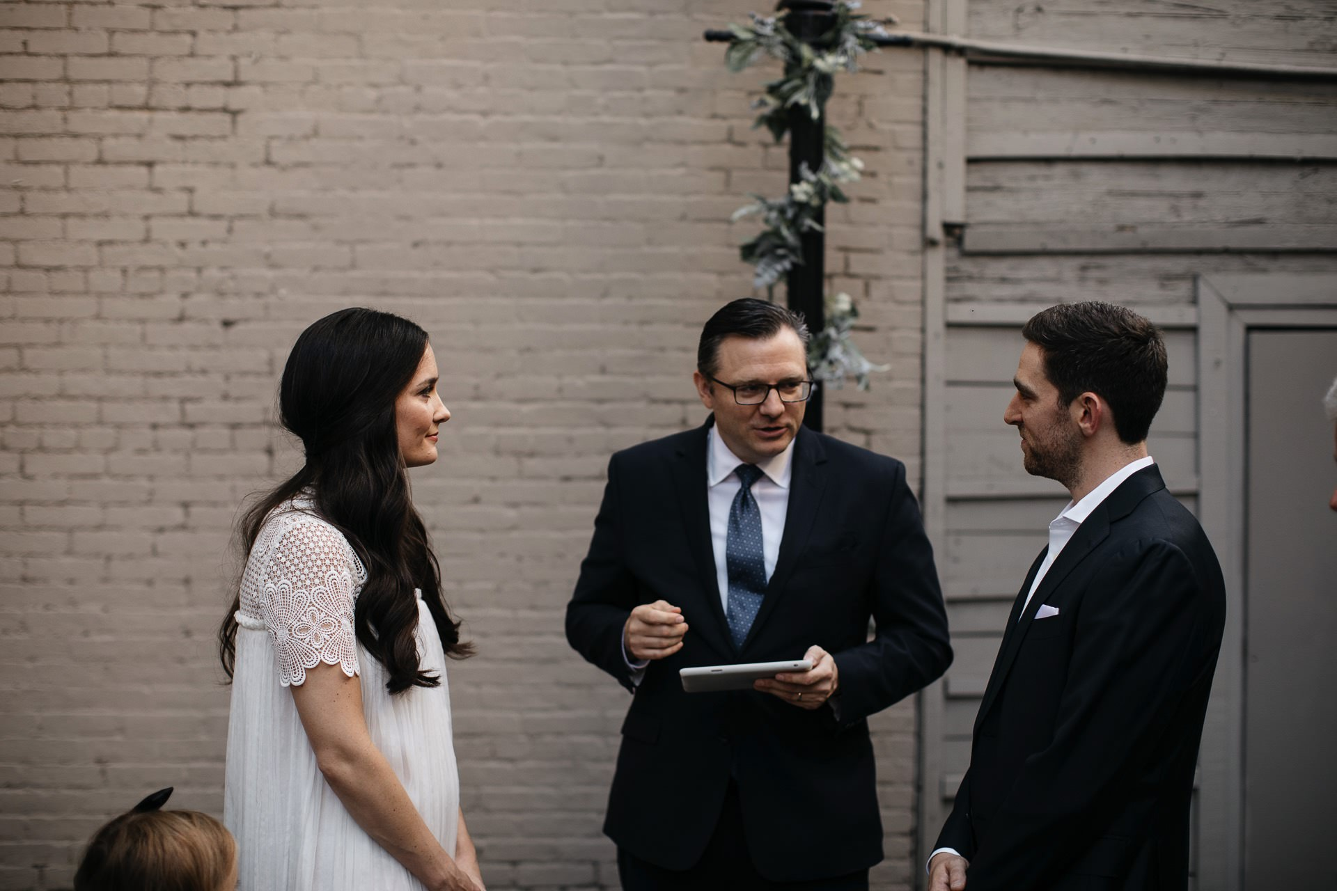 Emmy & Jesse Intimate New York Elopement in West Village, New York, by Jean-Laurent Gaudy