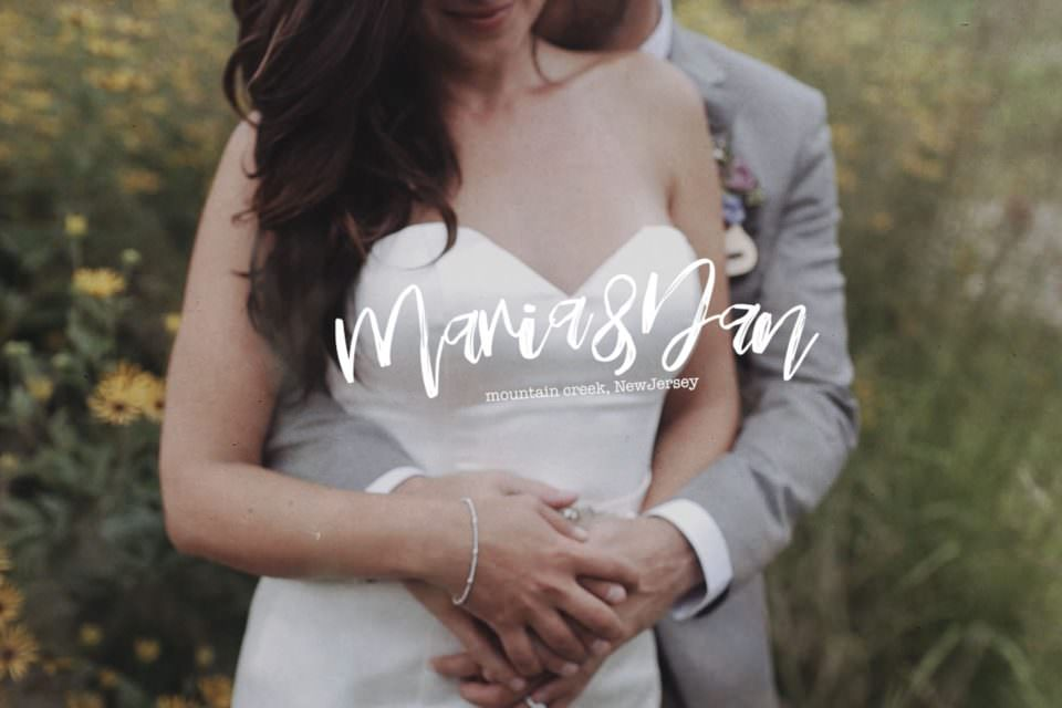 Mountain Top Wedding Videographer . Mountain Creek, New Jersey