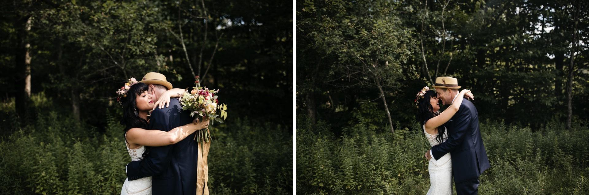 Victoria & Mark Wedding Handsome Hollow, Catskills, by Jean-Laurent Gaudy