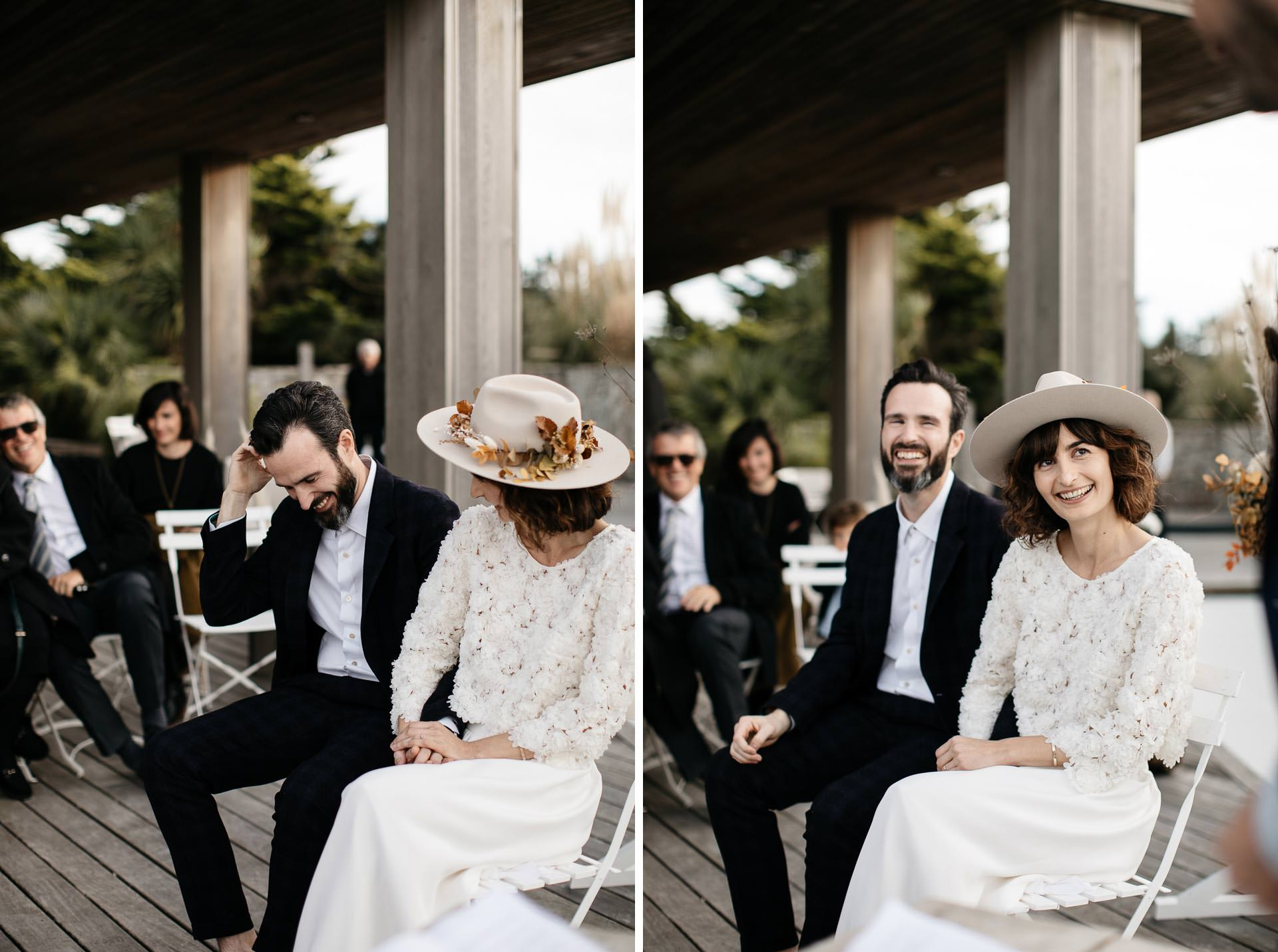 Boho Intimate Wedding France, Biarritz, by Jean-Laurent Gaudy