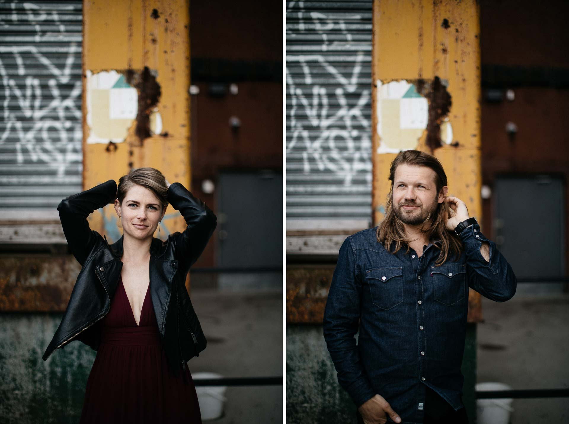 Engagement Session in Brooklyn by Jean-Laurent Gaudy Photography