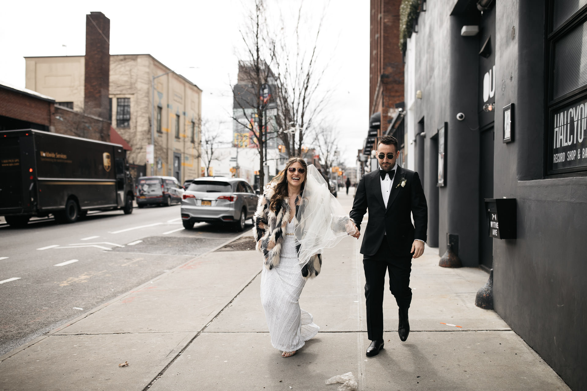 Stephanie & Nick's Wedding at the 501 Union In New York by Jean-Laurent Gaudy